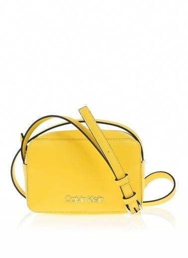 Calvin Klein Messenger / Askılı Çanta Sarı